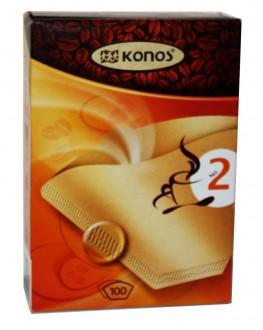 Фільтр-пакет для кави №2 15 см Konos (4047041121819)
