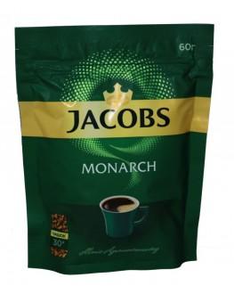 Кофе JACOBS Monarch растворимый 60 г эконом. пак. (4820187046464)