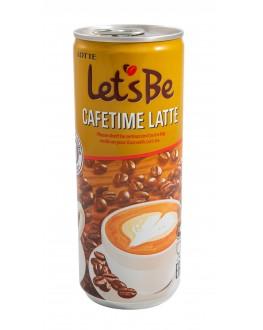 Напій LOTTE Let`s Be Cafetime Latte кавовий 240 мл