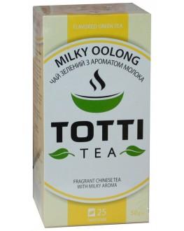 Чай TOTTI Milky Oolong Молочный Улун 25 x 2 г (8719325127027)
