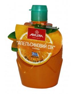 Сок апельсина AKURA концентрированный 220 мл п/б (5202737770880)