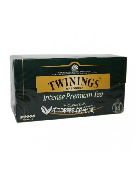 Чай TWININGS Intense Premium Интенсивный Премиум 25 х 2 г