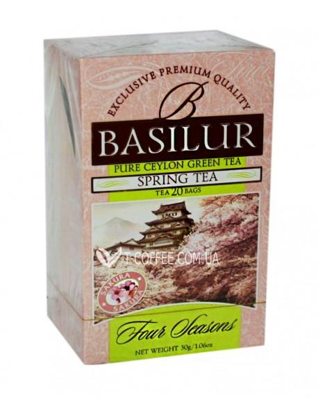Чай BASILUR Spring Tea Весенний - Времена Года 20 х 1,5 г (4792252915763)