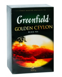 Чай GREENFIELD Golden Ceylon Цейлон 100 г к/п (4823096801063)