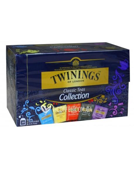 Чай TWININGS Collection Black Teas Ассорти Черный Чай 20 х 2 г (070177174729)