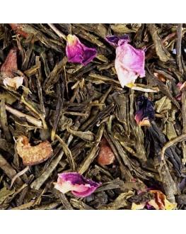 Зеленая Груша зеленый ароматизированный чай Світ чаю