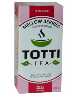 Чай TOTTI Mellow Berries Сочные Ягоды 25 x 1,5 г (8719189233285)