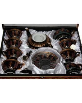 Сервиз чайный фарфоровый Golden Age 18 предметов