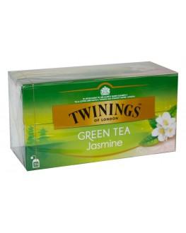 Чай TWININGS Green Tea Jasmine Зелений Жасмин 25 х 1,8 г (070177173166)