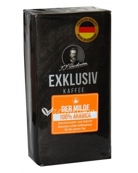Кофе JJ DARBOVEN Exklusiv Kaffee der Milde молотый 250 г (4006581019529)
