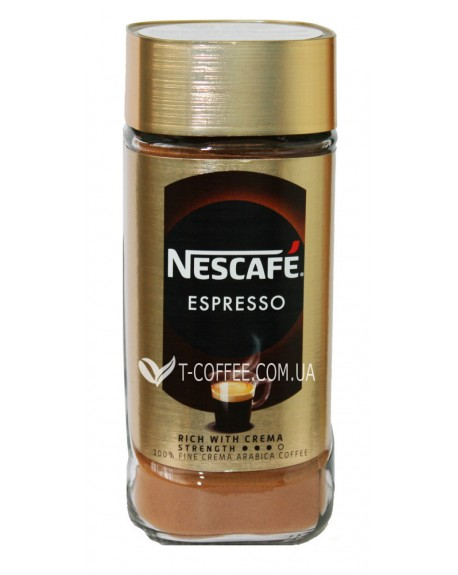 Кофе NESCAFE Espresso 100% Арабика растворимый 100 г ст. б. (7613036303798)