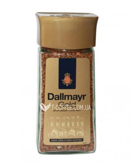 Кофе Dallmayr Gold растворимый 100 г ст. б. (4008167070504)