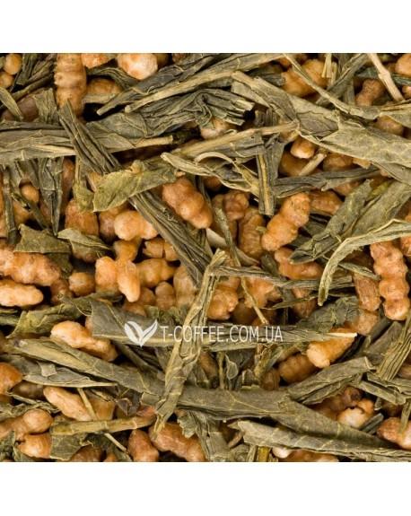 Генмайча зеленый классический чай Чайна Країна