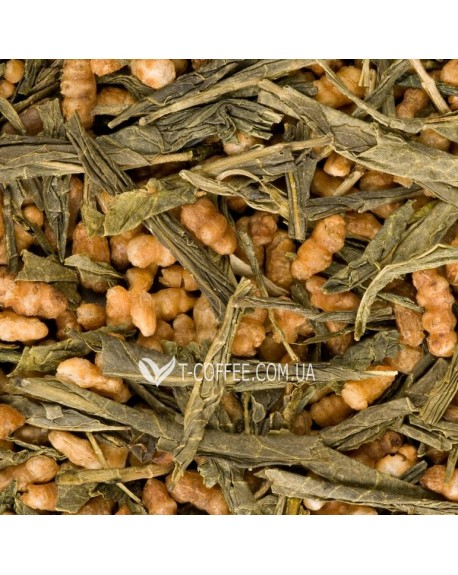 Генмайча зеленый классический чай Країна Чаювання 100 г ф/п