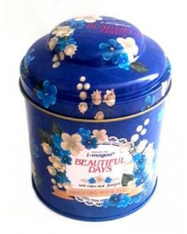 Банка Beautiful Days Блакитна жерстяна 150 г