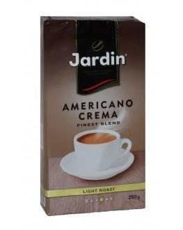 Кава JARDIN Gourmet Americano Crema мелена 250 г (4820022868602)