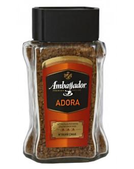 Кофе AMBASSADOR Adora растворимый 95 г ст. б.