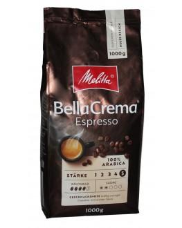 Кофе MELITTA Bella Crema Espresso зерновой 1 кг (4002720008300)