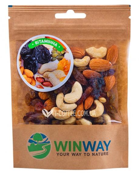 Ореховая смесь WINWAY Витаминная 100 г (4821912900136)