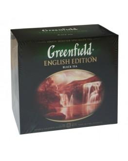 Чай GREENFIELD English Edition Английская Коллекция 50 х 2 г (4823096806679)