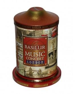 Чай BASILUR Музыкальная Шкатулка London Лондон - Праздничная 100 г ж/б (4792252916708)