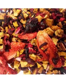 Журавлина-Полуниця фруктовий чай Країна Чаювання 100 г ф/п