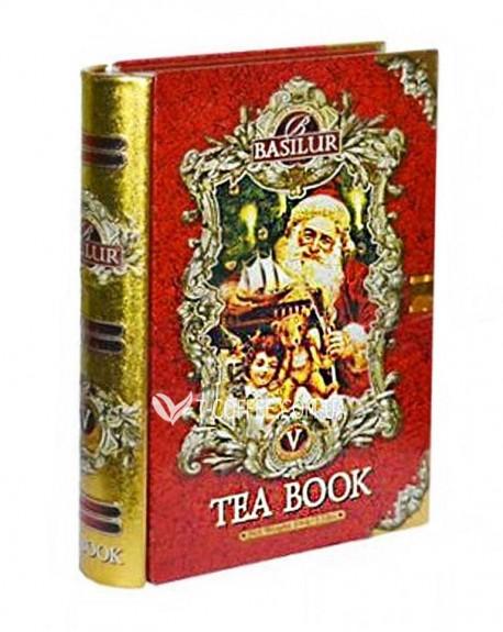 Чай BASILUR Winter Book mini Том 5 - Зимняя Книга мини ж/б