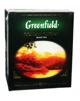 Чай GREENFIELD Golden Ceylon Цейлон 100 х 2 г к/п (4823096801704)