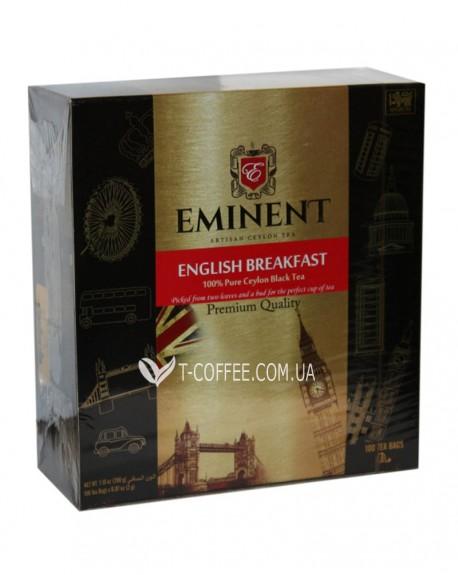 Чай EMINENT English Breakfast Английский завтрак 100 х 2 г к/п