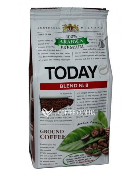 Кофе Today Arabica Premium Blend № 8 молотый 200 г (5060300570455)