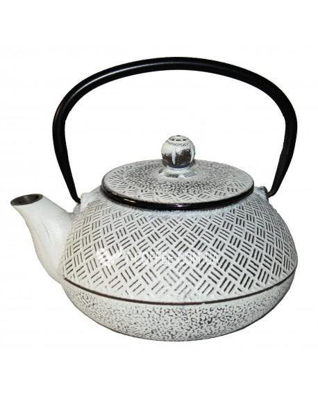 Чайник чугунный Мияко белый 800 мл