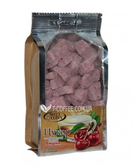 Сахар колотый кусковой с вишней Sweet Cubes 250 г