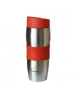 Термосклянка CONBRIO червона 380 мл