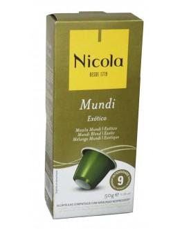 Кофе NICOLA Nespresso Mundi Exotico в капсулах 10 х 5 г (5601132002389)