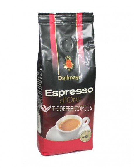 Кофе Dallmayr Espresso d'Oro зерновой 200 г