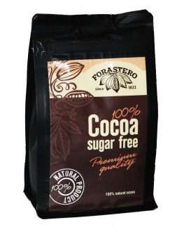 Какао FORASTERO 100% Cocoa без цукру 500 г