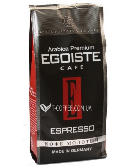 Кофе Egoiste Espresso молотый 250 г (4260283250172)