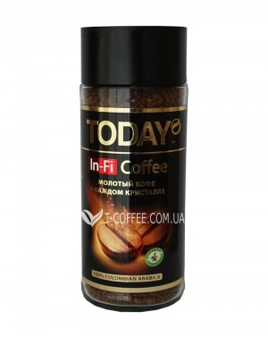 Кофе Today In-Fi растворимый 95 г ст. б. (5060300570134)