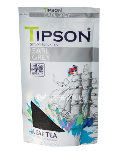 Чай Tipson Earl Grey Эрл Грей 175 г ф/п (4792252937376)
