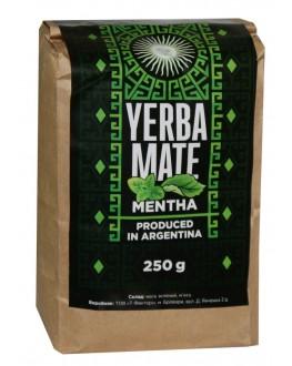 Мате Yerba Mate Mentha М'ята етнічний чай 250 г к/п