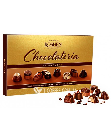 Конфеты Roshen Chocolateria 194 г в коробке