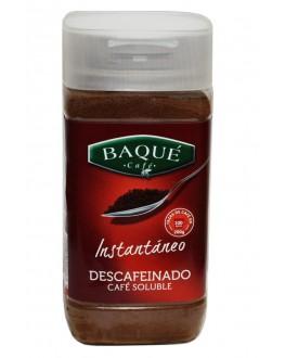 Кофе CAFE BAQUE Instantaneo Descafeinado растворимый 200 г п/б (8410684810208)