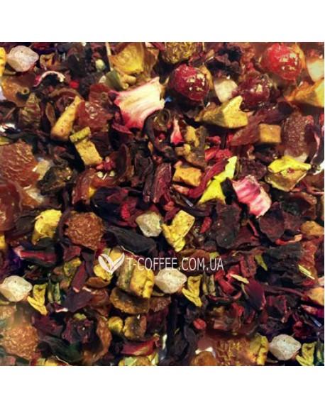 Малиновый Пунш фруктовый чай Країна Чаювання 100 г ф/п