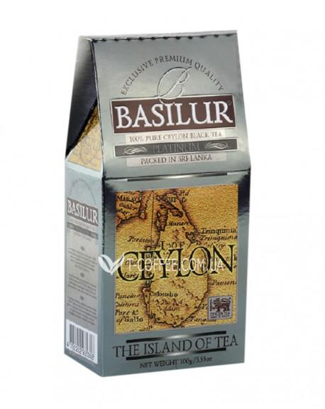 Чай BASILUR Platinum Платинум - Чайный Остров 100 г к/п (4792252935358)