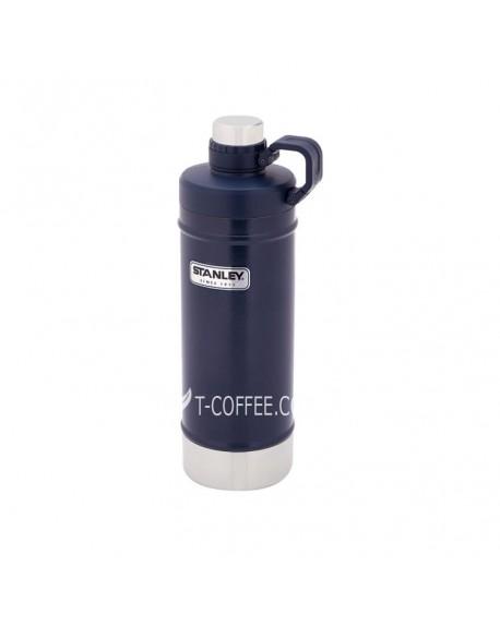 Термобутылка Stanley Classic темно-синяя 620 мл (4823082708260)