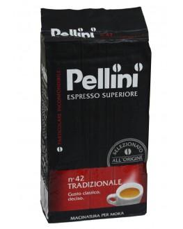 Кава PELLINI Espresso Superiore Tradizionale мелена 250 г (8001685122379)