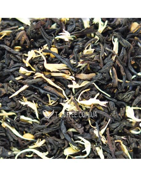 Крем Брюле черный ароматизарованный чай Світ чаю