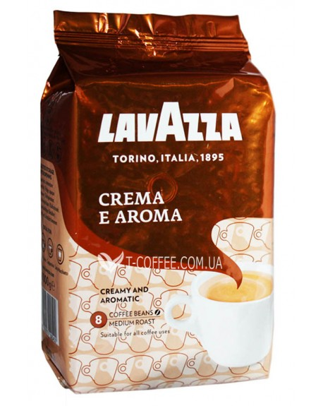 Кофе Lavazza Crema e Aroma 1 кг зерновой
