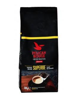 Кофе PELICAN ROUGE Superbe зерновой 500 г (5410958119108)