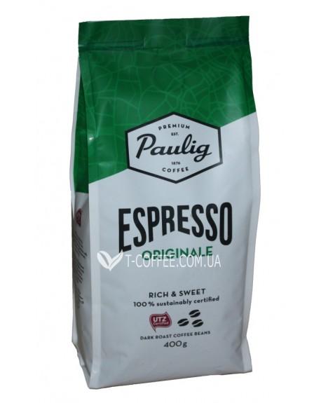 Кофе Paulig Espresso Originale зерновой 400 г (6411300169801)